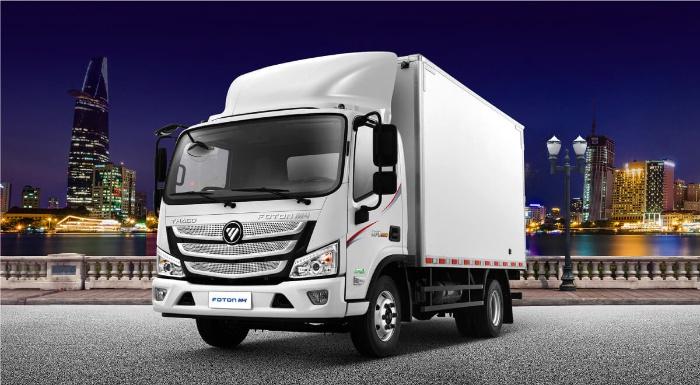 Xe tải là một trong những phương tiện vận chuyển rất phổ biến ở Việt Nam