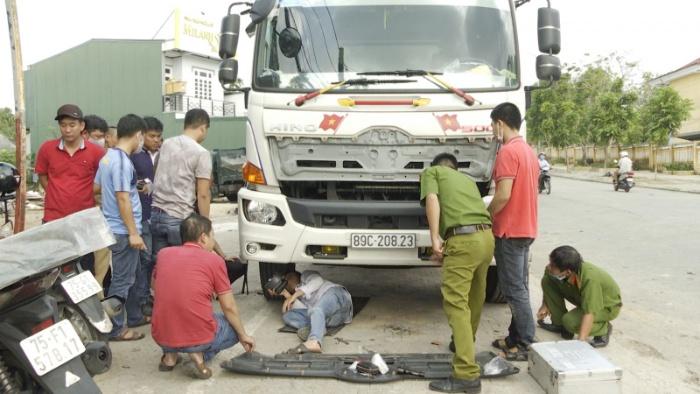 Mộng thấy mình lái xe tải gây tai nạn